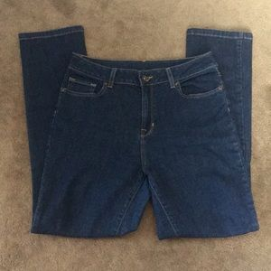 LL Bean true shape jeans slim fit